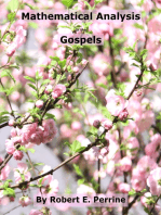 Mathematical Analysis of the Gospels