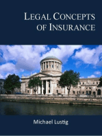 Legal Concepts of Insurance