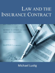 Law and the Insurance Contract