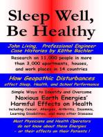 Sleep Well, Be Healthy