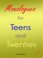 Monologues for Teens and Twenties (2nd edition)