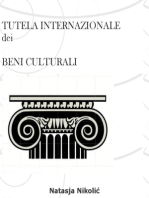Tutela internazionale dei beni culturali