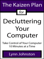 The Kaizen Plan for Decluttering Your Computer