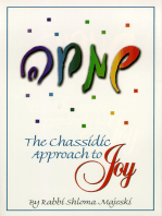 The Chassidic Approach To Joy
