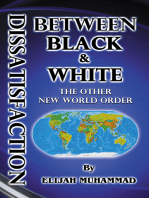 Dissatisfaction Between Black And White