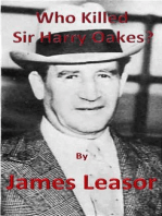 Who Killed Sir Harry Oakes?