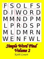 Simple Word Find Volume 2