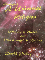 Developing a Universal Religion