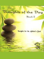 Spirit of Golf -Thoughts of the Day