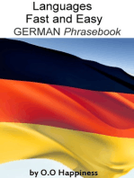Languages Fast and Easy ~ German Phrasebook