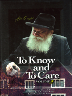 To Know and To Care