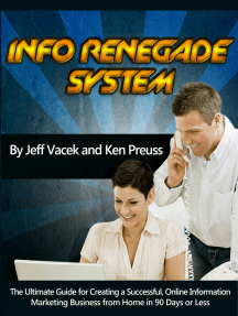 The Info Renegades System