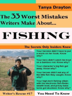 The 33 Worst Mistakes Writers Make About Fishing
