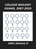College Biology Exams, 2007-2010