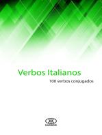 Verbos italianos (100 verbos conjugados)