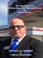 The Real Book on Selling Cars and Making Money