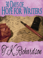 30 Days of Hope for Writers