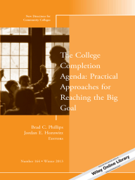 The College Completion Agenda