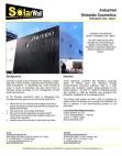 SolarWall Case Study - Shiseido Cosmetics (solar air heating system)