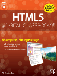 HTML5 Digital Classroom, (Book and Video Training)
