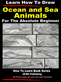 Learn How to Draw Portraits of Ocean And Sea Animals in Pencil For the Absolute Beginner