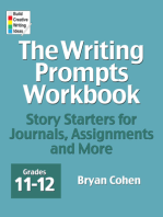 The Writing Prompts Workbook, Grades 11-12