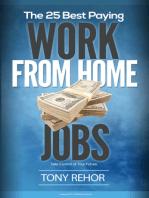 Work From Home Jobs. The 25 Best Paying.