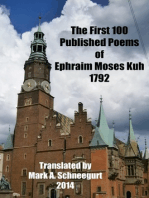 The First 100 Published Poems of Ephraim Moses Kuh