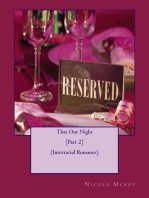 That One Night [Part 2] (Interracial Romance)