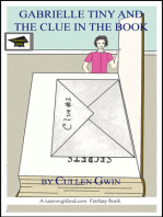 Gabrielle Tiny and the Clue in the Book, Educational Version