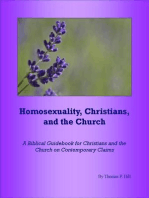 Homosexuality, Christians, and the Church