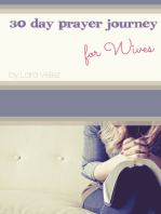 30 Day Prayer Journey for Wives