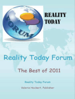 Reality Today Forum The Best of 2011