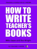 How To Write Teacher's Books