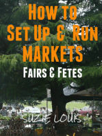 How to Set Up & Run Markets Fairs & Fetes