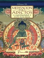 Meditacion para adictos. La espiritualidad al alcance de los locos