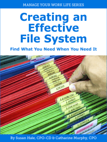 Creating an Effective File System