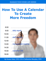 How to Use a Calendar to Create More Freedom