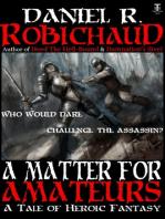 A Matter For Amateurs