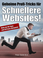 Geheime Profi-Tricks für schnellere Websites!