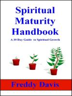Spiritual Maturity Handbook