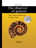 The Observer of Genesis. The Science Behind the Creation Story