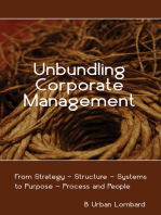 Unbundling Corporate Management
