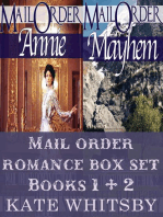 Mail Order Bride Romance Box Set (Books 1 & 2 )