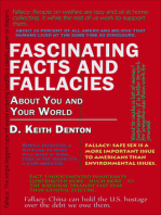 Fascinating Facts and Fallacies About You and Your World