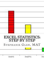 Excel Statistics: Step by Step