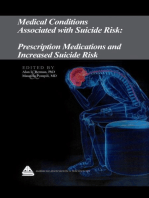 Medical Conditions Associated with Suicide Risk: Prescription Medications and Increased Suicide Risk
