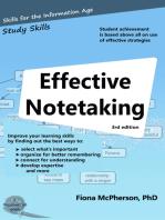 Effective Notetaking (3rd ed)