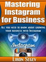 Mastering Instagram For Business