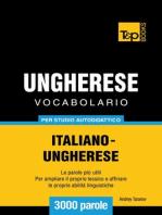 Vocabolario Italiano-Ungherese per studio autodidattico
